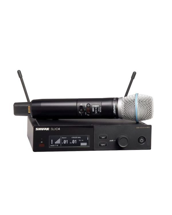 Shure SLX-D Wireless System with Beta 87A Handheld Microphone