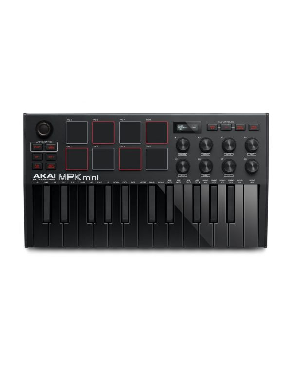 Akai MPK Mini 3 Black MIDI Keyboard