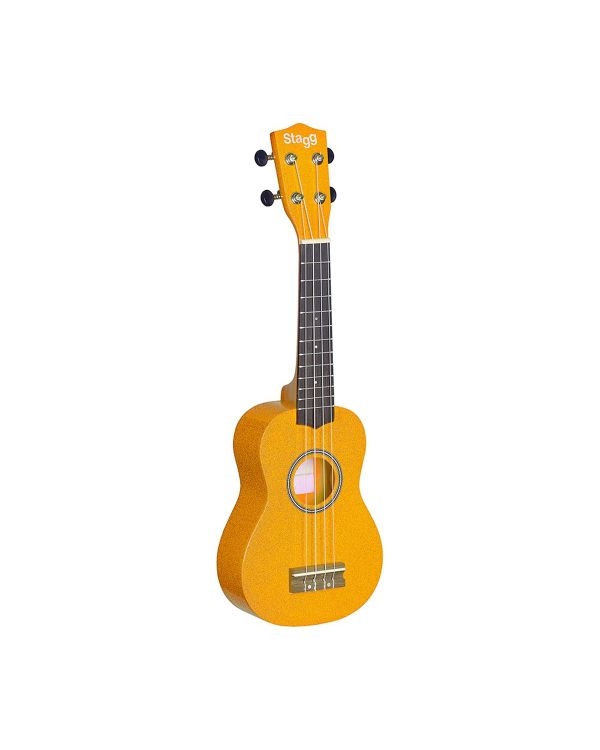 Stagg US-LEMON Soprano Ukulele Lemon with Gig Bag