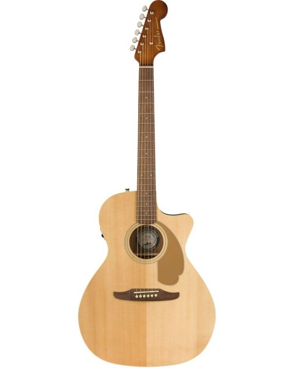 Fender Newporter Player Natural Electro-Acoustic Guitar
