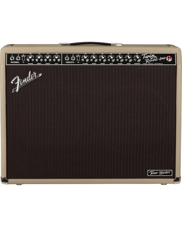 Fender Ltd Edition Tone Master Twin Reverb Blonde Combo Amp