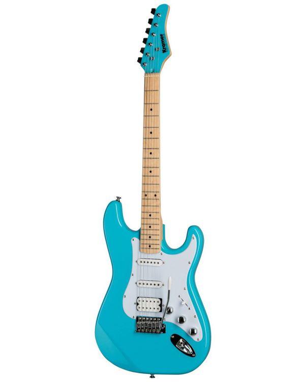 Kramer Focus VT-211S Electric Guitar, Teal
