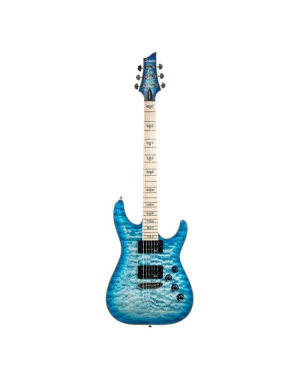 Schecter Omen Extreme-6 Ocean Blue Burst Electric Guitar