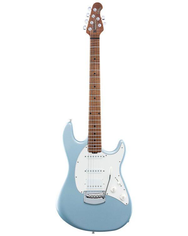 Music Man Cutlass RS HSS Trem Firemist Silver Electric Guitar