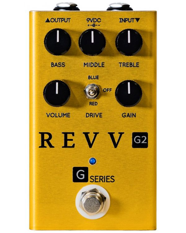 Revv Limited Edition G2 Gold Overdrive Pedal