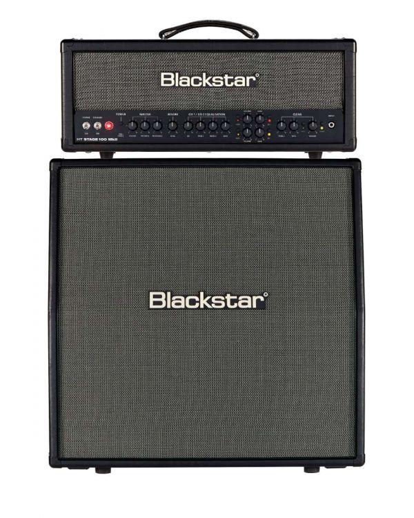 Blackstar HT Stage 100 MkII Valve Amp Head and HTV-412 MkII Speaker Cab Bundle