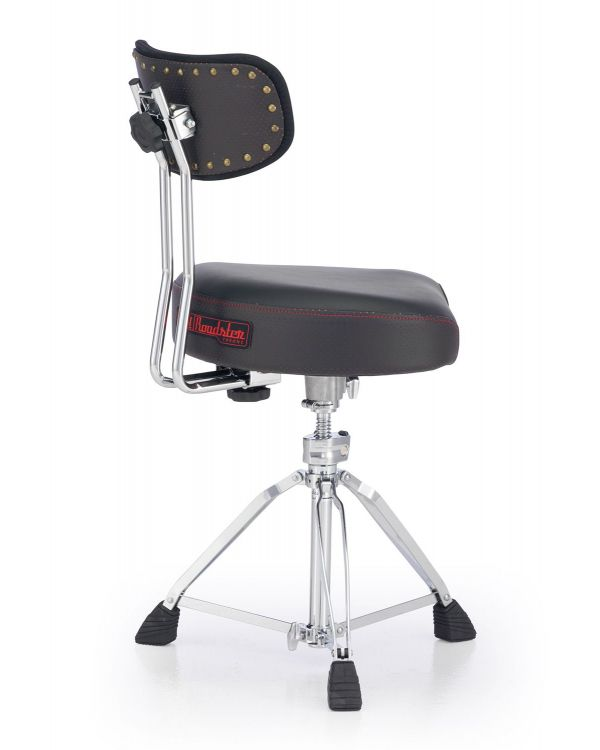 Pearl Roadster Multi-Core Saddle Drum Throne with Backrest