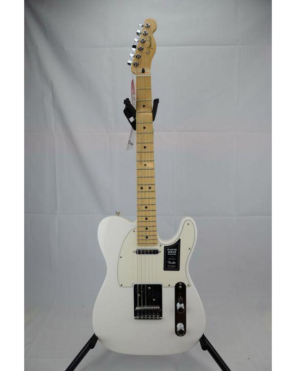 B Stock Fender Player Telecaster MN Polar White