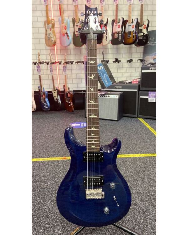 B Stock PRS S2 Custom 22 Electric Guitar, Whale Blue
