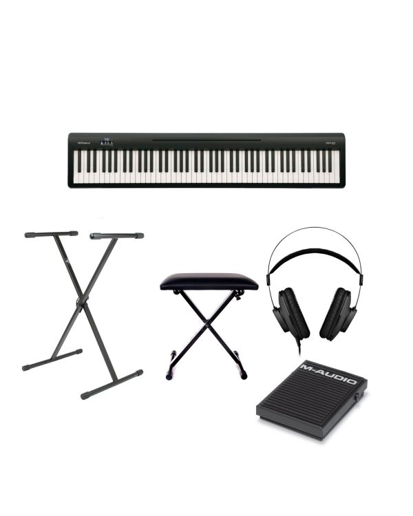Roland FP-10 Digital Piano Bundle
