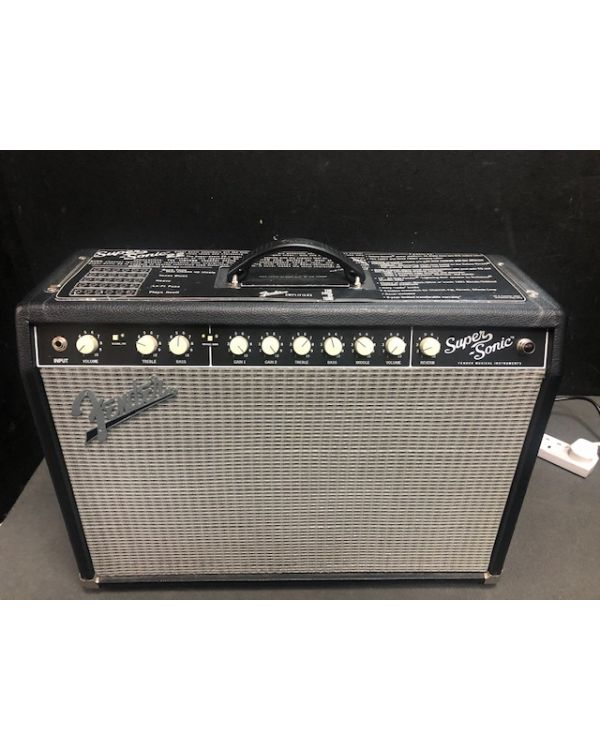 B Stock Fender Super-sonic 22 Combo Black 230v EUR