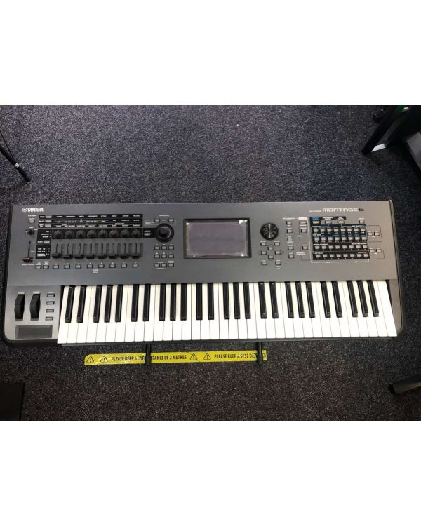 B-Stock Yamaha Montage 6 Synthesizer 61