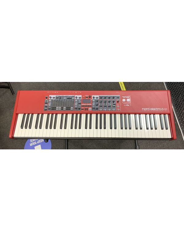 B Stock Nord Electro 6 HP 73-Note Hammer Action Keyboard