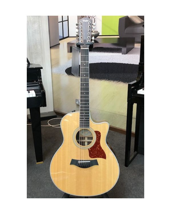 Pre-Loved Taylor 456CE-R 12 String Electro Acoustic