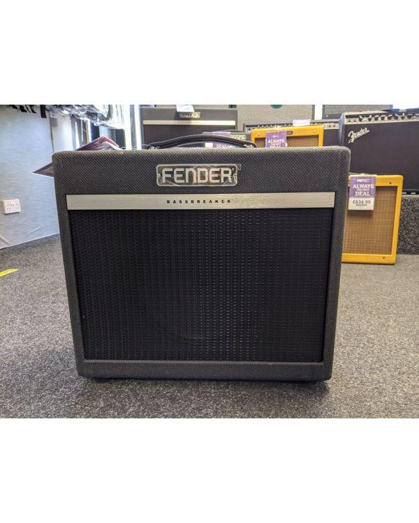 B Stock Fender Bassbreaker 15 Combo Amplifier