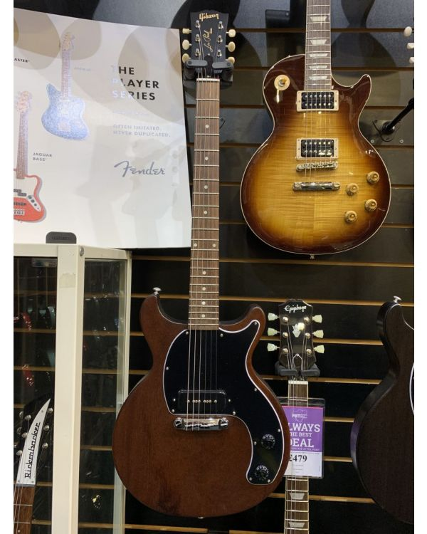 B-Stock Gibson Les Paul Junior Tribute DC Worn Brown