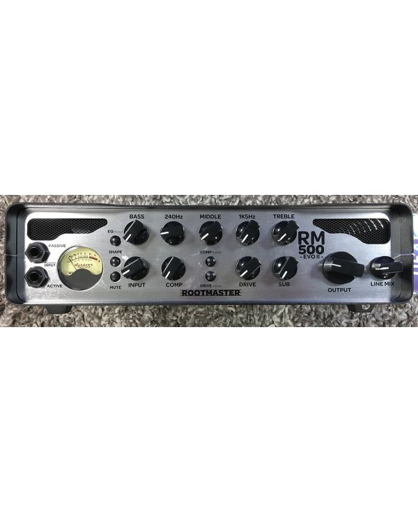 B-Stock Ashdown RM-500-EVO II 500w Bass Head