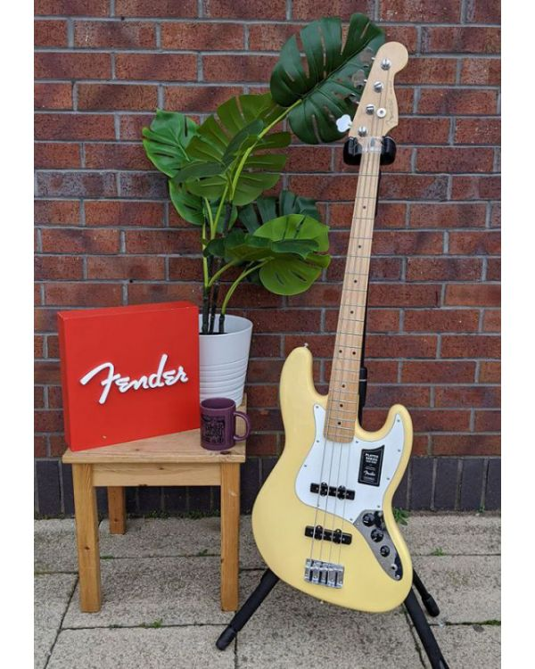 B-Stock Fender Player Jazz Bass MN Buttercream