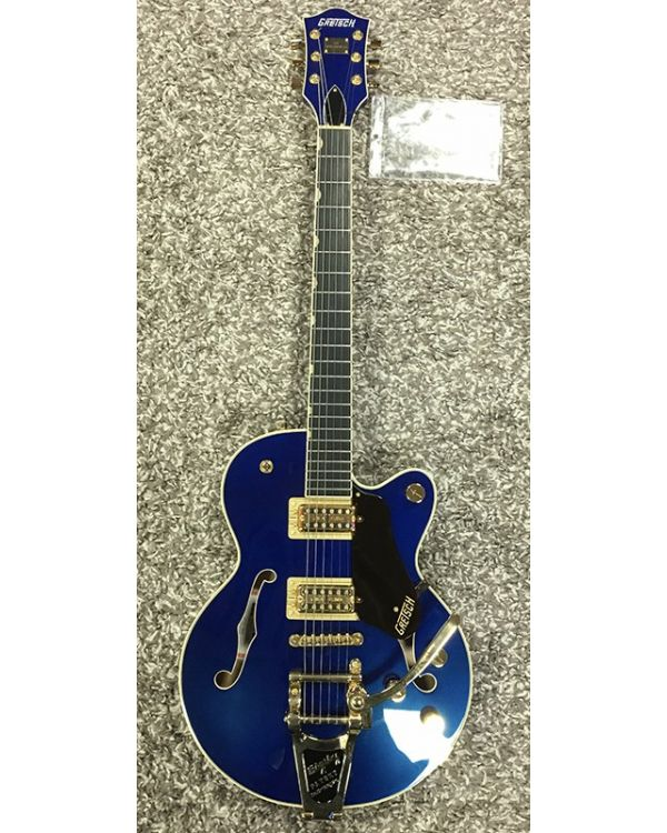 B Stock Gretsch G6659TG Players Ed Broadkaster Jr Azure Metallic