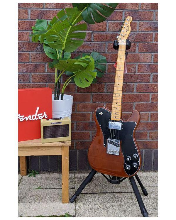 B Stock Fender American Original 70s Tele Custom MN Mocha