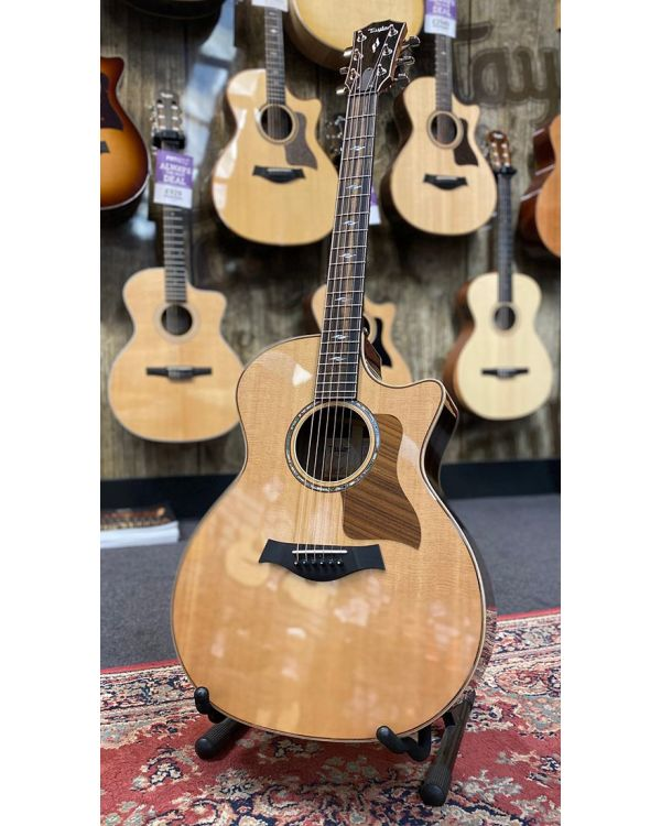 B Stock Taylor 814ce V-Class Electro Acoustic Guitar