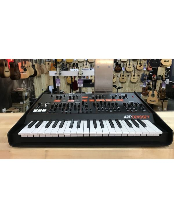 B-Stock Korg ARP Odyssey Mini Analog Synth Black Orange