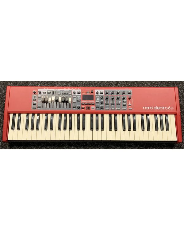 Pre-Loved Nord Electro 6D 61 Key and Bag