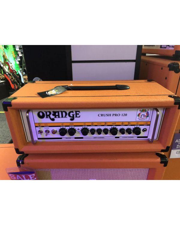 B-Stock Orange Crush CR120H Guitar Amplifier Head