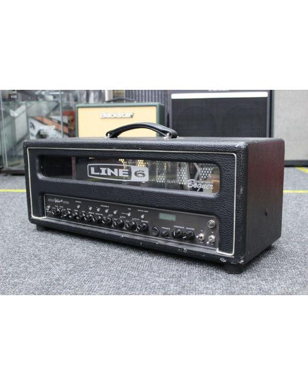 Pre-Loved Line 6 Spider Valve MkII HD100 Guitar Amplifier Head