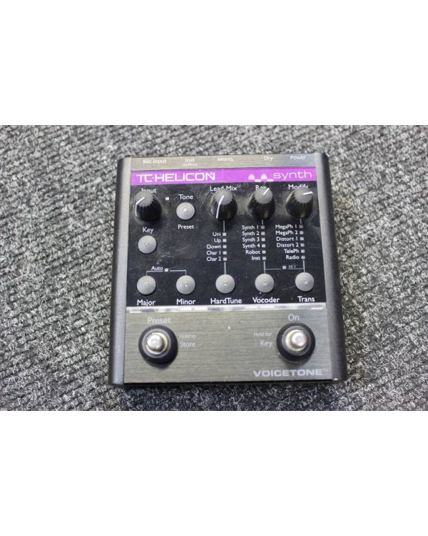 Pre-Loved TC Helicon VoiceTone Synth