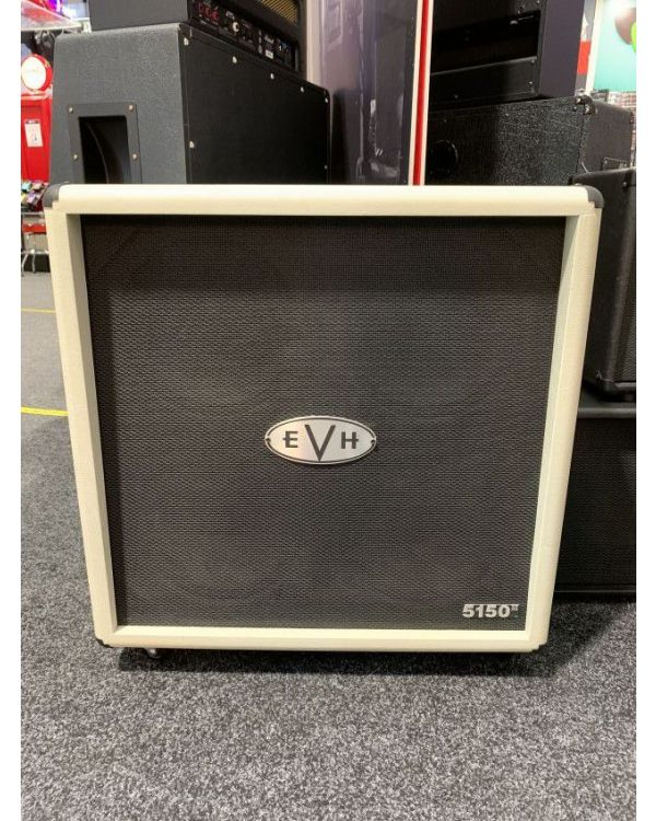 B Stock EVH 5150III 4x12 Straight Cabinet, Ivory
