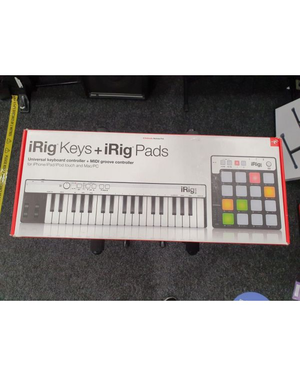 Pre-Loved iRig Keyboard and Pads MIDI Controllers