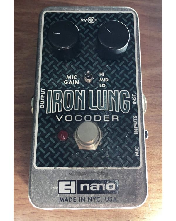 Pre-Loved Electro Harmonix Iron Lung Vocoder Pedal