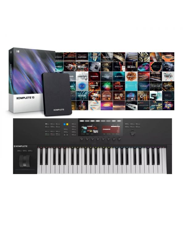 Native Instruments Komplete Kontrol S49 Mk2 With Komplete 13