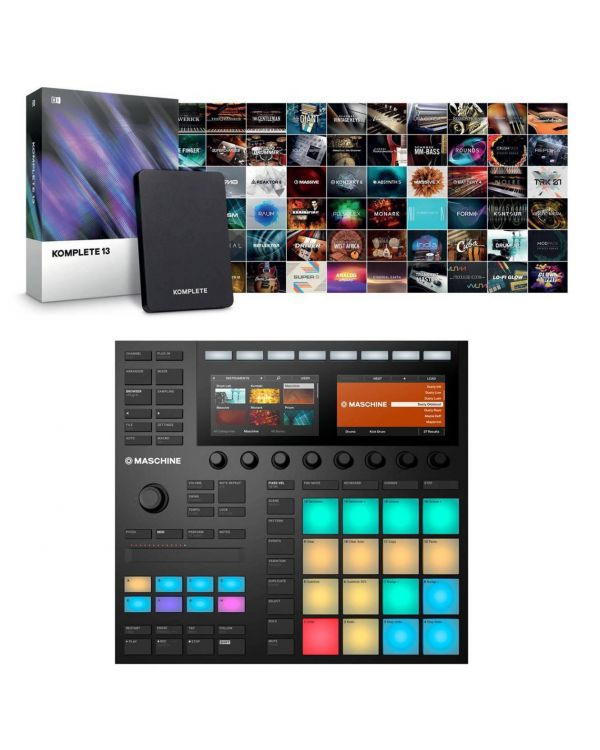 Native Instruments Maschine Mk3 With Komplete 13