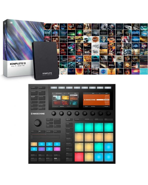 Native Instruments Maschine MK3 with Komplete 13 Ultimate
