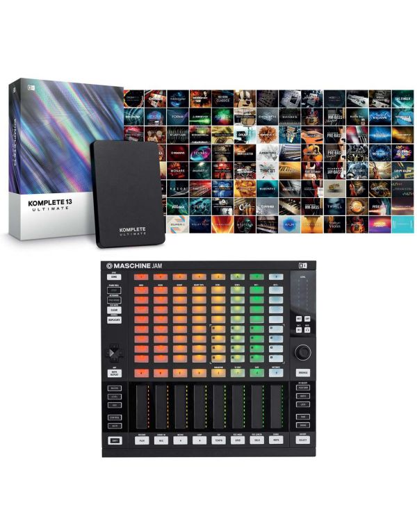 Native Instruments Maschine Jam with Komplete 13 Ultimate