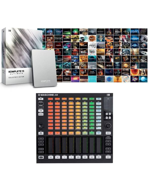 Native Instruments Maschine Jam with Komplete 13 Ultimate Collectors Edition
