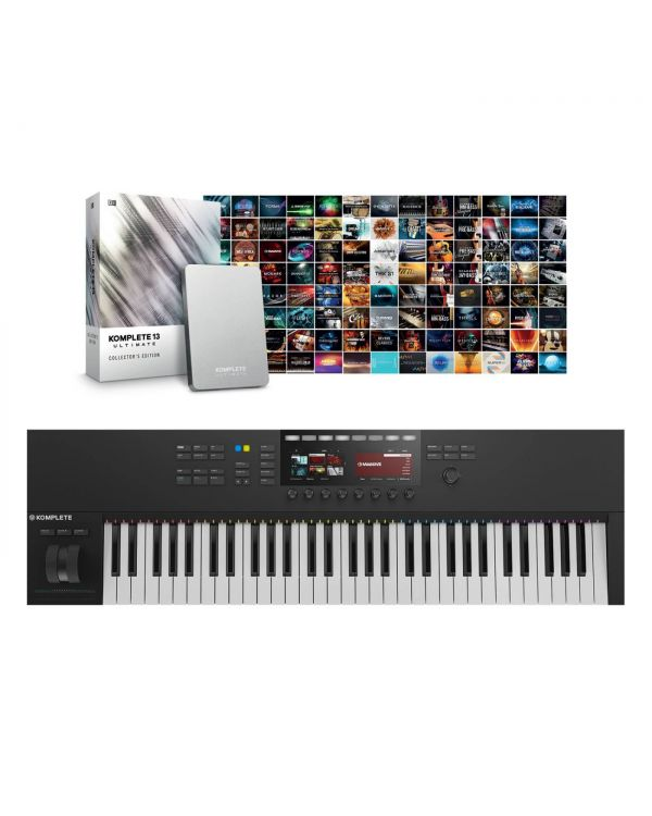 Native Instruments Komplete Kontrol S61 Mk2 with Komplete 13 Ult CE