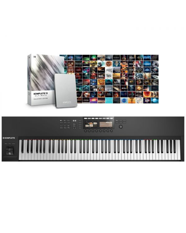 Native Instruments Komplete Kontrol S88 Mk2 with Komplete 13 Ult CE