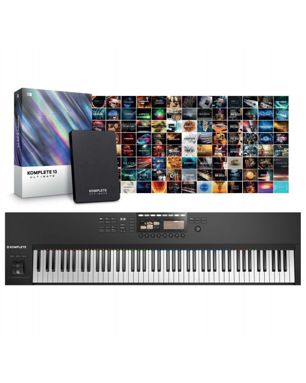 Native Instruments Komplete Kontrol S88 MK2 with Komplete 13 Ultimate