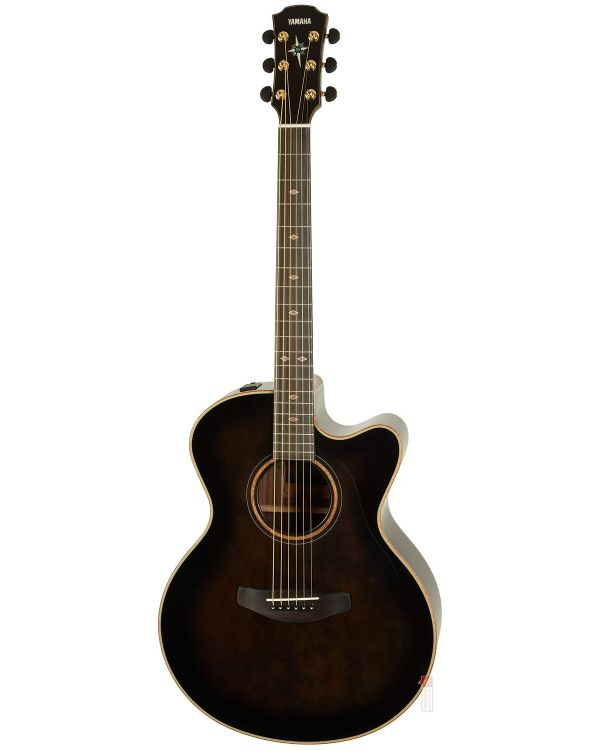 Yamaha CPX1200 II Electro Acoustic Guitar Translucent Black