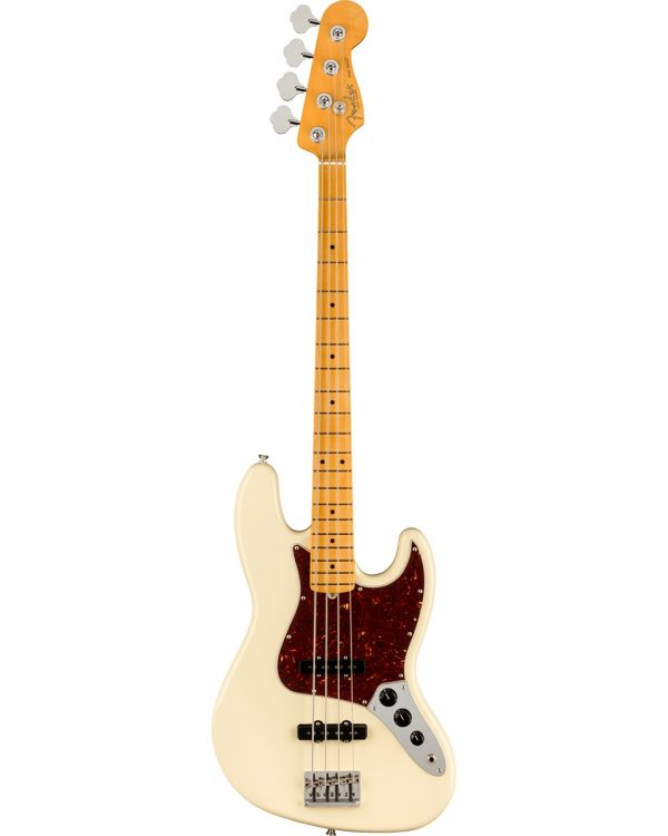 Fender American Professional II Jazz Bass MN Olympic White
