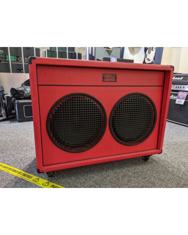 Pre-Loved Zilla Fatboy 2x12 Guitar Speaker Cabinet