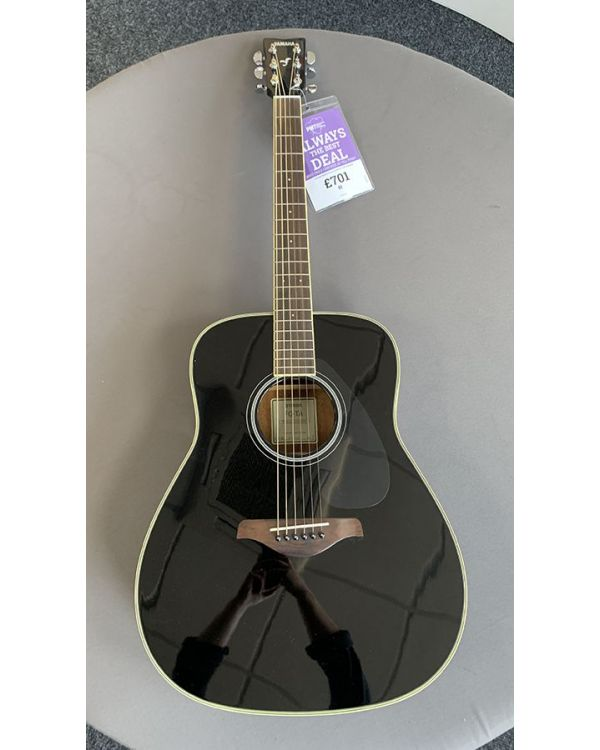 B-Stock Yamaha FG-TA Acoustic Guitar Black