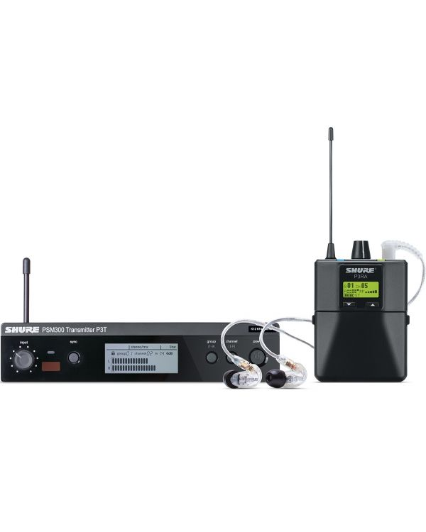 Shure PSM300 Wireless Personal Monitor System with SE215 Earphones