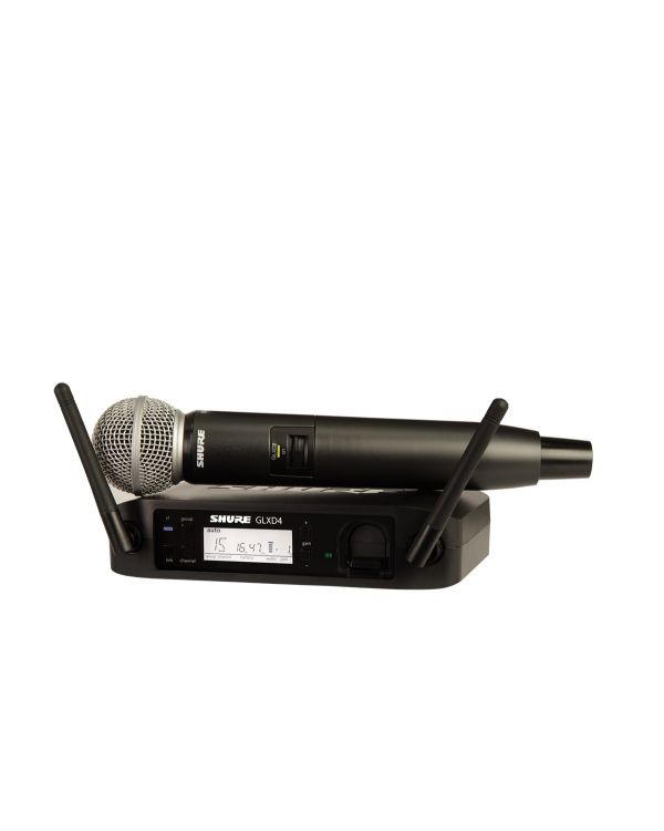 Shure GLXD24UK / SM58 Digital Wireless Microphone System
