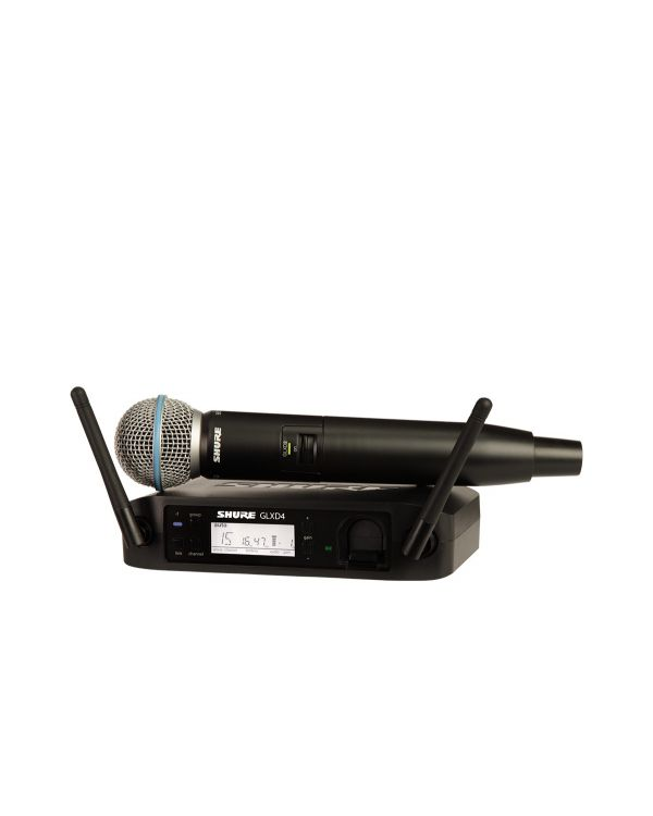 Shure GLXD24UK / BETA58 Digital Handheld Wireless Microphone System