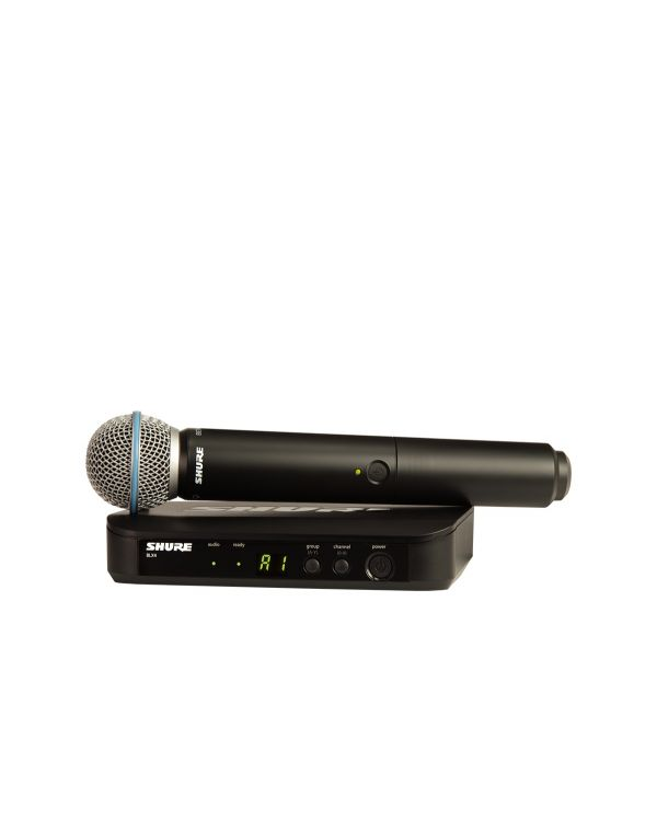 Shure BLX24UK / BETA58 Handheld Wireless Microphone System