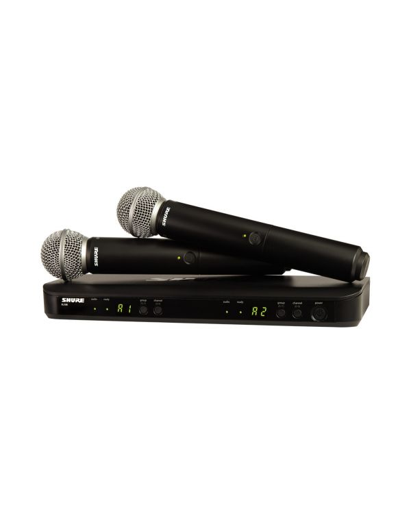 Shure BLX288UK/SM58 Dual Wireless Microphone System